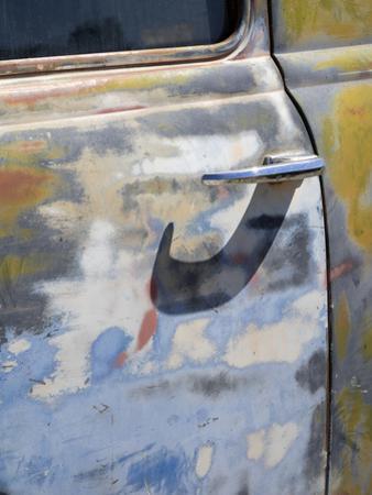 Arizona, Oatman, Route 66, old truck detail by Jamie & Judy Wild