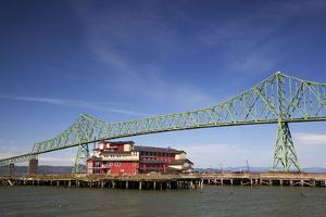 Astoria-Melger Bridge, Cannery Pier Hotel on the Columbia River, Astoria, Oregon, USA by Jamie & Judy Wild