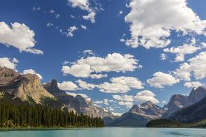 Canada, Alberta, Jasper National Park, Maligne Lake by Jamie & Judy Wild