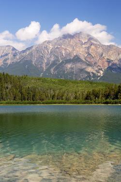 Canada, Alberta, Jasper NP, Pyramid Mountain and Patricia Lake by Jamie & Judy Wild