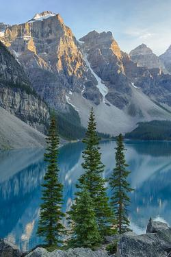 Canada, Banff National Park, Valley of the Ten Peaks, Moraine Lake by Jamie & Judy Wild