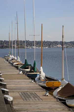 Center for Wooden Boats, Lake Union, Seattle, Washington, USA by Jamie & Judy Wild