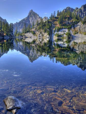 Chair Peak, Gem Lake, Alpine Lakes Wilderness, Washington, Usa by Jamie & Judy Wild