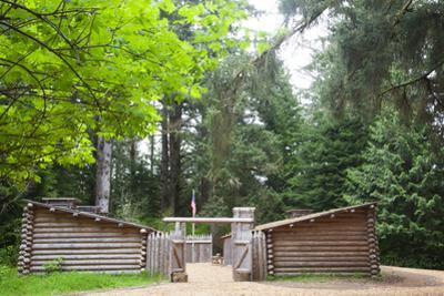 Fort Clatsop, Lewis and Clark National Historic Park, Oregon, USA by Jamie & Judy Wild