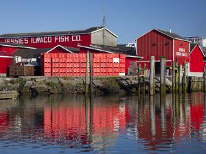 Jessie's Ilwaco Fish Company, Ilwaco, Washington, USA by Jamie & Judy Wild