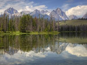 Little Redfish Lake, Sawtooth National Recreation Area, Idaho, USA by Jamie & Judy Wild