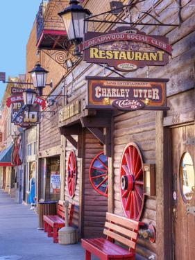 Main Street, Deadwood, South Dakota, USA by Jamie & Judy Wild