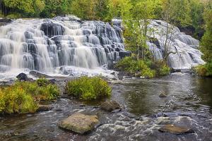 Michigan, Ontonagon County, Bond Falls by Jamie & Judy Wild