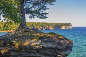 Michigan, Pictured Rocks National Lakeshore, Chapel Rock by Jamie & Judy Wild