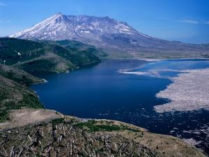 Mt. Saint Helens and Spirit Lake, Mt. Saint Helens National Volcanic Monument, Washington, USA by Jamie & Judy Wild