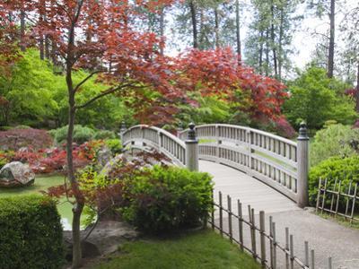 Nishinomiya Japanese Garden, Manito Park, Spokane, Washington, Usa by Jamie & Judy Wild