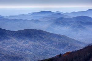 North Carolina, Blue Ridge Parkway by Jamie & Judy Wild