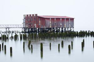 Old Fishing Cannery on the Columbia River, Astoria, Oregon, USA by Jamie & Judy Wild