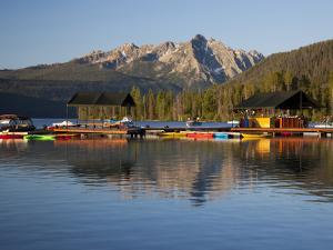 Redfish Lake Lodge, Redfish Lake, Sawtooth National Recreation Area, Idaho, USA by Jamie & Judy Wild