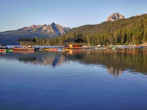 Redfish Lake Lodge, Redfish Lake, Sawtooth National Recreation Area, Idaho, USA by Jamie & Judy Wild