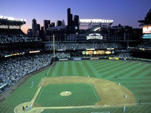 Safeco Field, Home of the Seattle Mariners, Seattle, Washington, USA by Jamie & Judy Wild