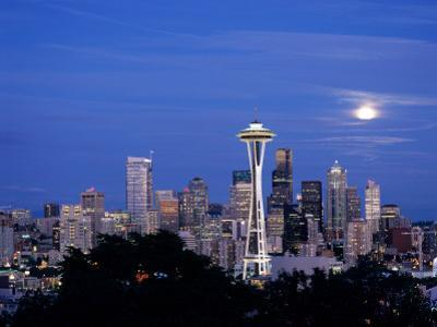 Seattle from Kerry Park, Seattle, Washington, USA by Jamie & Judy Wild