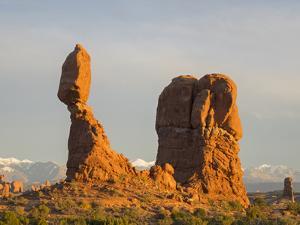 USA, Utah. Arches National Park, Balanced Rock by Jamie & Judy Wild
