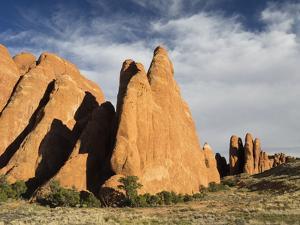 USA, Utah. Arches National Park, Fiery Furnace Fins by Jamie & Judy Wild