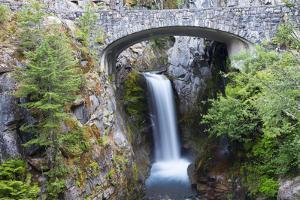 USA, Washington State. Mount Rainier National Park, Christine Falls by Jamie & Judy Wild