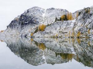 Washington State, Alpine Lakes Wilderness. Enchantment Lakes, Perfection Lake by Jamie & Judy Wild