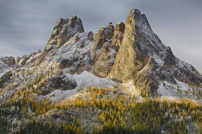 Washington State, Okanogan National Forest, North Cascades, Liberty Bell and Early Winters Spires by Jamie & Judy Wild