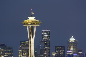 Washington State, Seattle. Space Needle by Jamie & Judy Wild