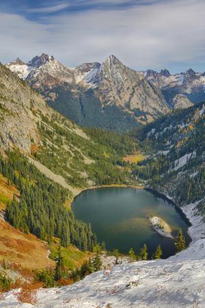 Washington State, Wenatchee National Forest, Lake Ann and North Cascades by Jamie & Judy Wild