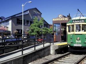 Waterfront Streetcar, Seattle, Washington, USA by Jamie & Judy Wild