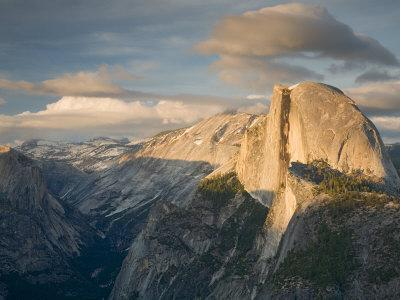 Yosemite with Half Dome. from Glacier Point. Yosemite National Park, CA