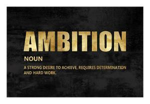 Ambition in Gold by Jamie MacDowell