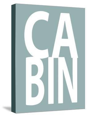 Cabin Aqua by Jamie MacDowell