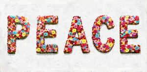 Floral Peace by Jamie MacDowell