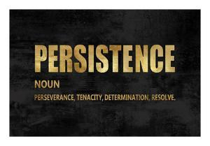 Persistence in Gold by Jamie MacDowell
