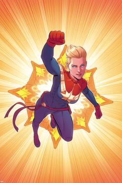 Captain Marvel No. 3 Cover by Jamie McKelvie