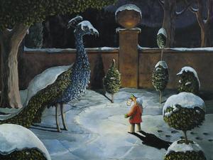 Ellen and the Peacock by Jamin Still