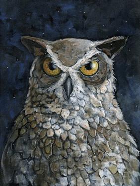 Great Horned Owl by Jamin Still