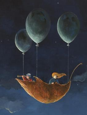 Penelope and the Airship by Jamin Still