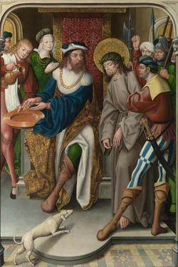 Christ before Pilate (The Liesborn Altarpiec), C. 1520 by Jan Baegert