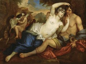 Venus and Adonis by Jan Boeckhorst