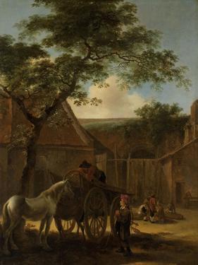 Farmyard by Jan Both
