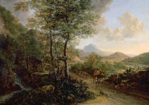Italian Landscape, C.1637-41 by Jan Both