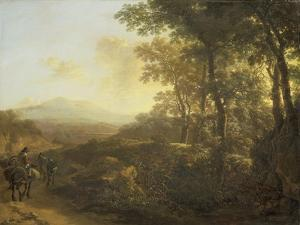 Italian Landscape with Mule Driver by Jan Both
