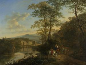 Italian Landscape with the Ponte Molle by Jan Both
