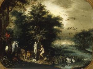 The Garden of Eden by Jan Breugel the Elder