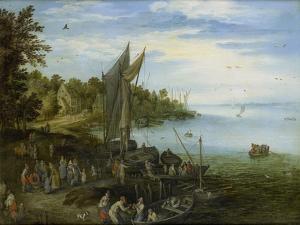 River Bank by Jan Brueghel