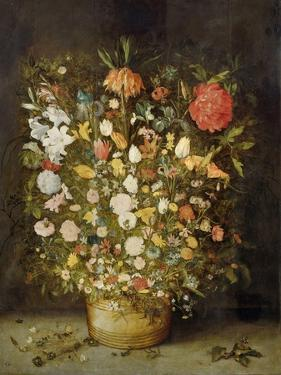 Still Life with Flowers, 1600-30 by Jan Brueghel