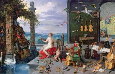 Allegory of Music by Jan Brueghel the Elder