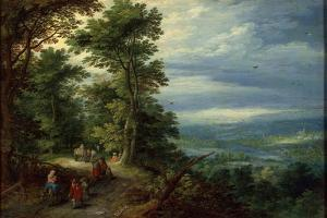 Edge of the Forest (The Flight into Egyp), 1610 by Jan Brueghel the Elder