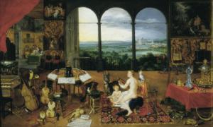 Hearing by Jan Brueghel the Elder